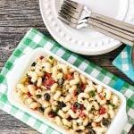 Easy Pasta Salad with Homemade Italian Dressing