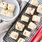 Rhubarb Cream Scones