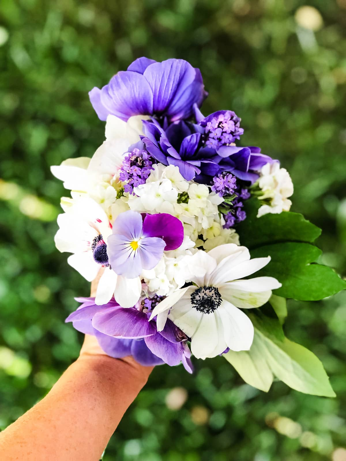 Bouquet from a Cut Flower Garden