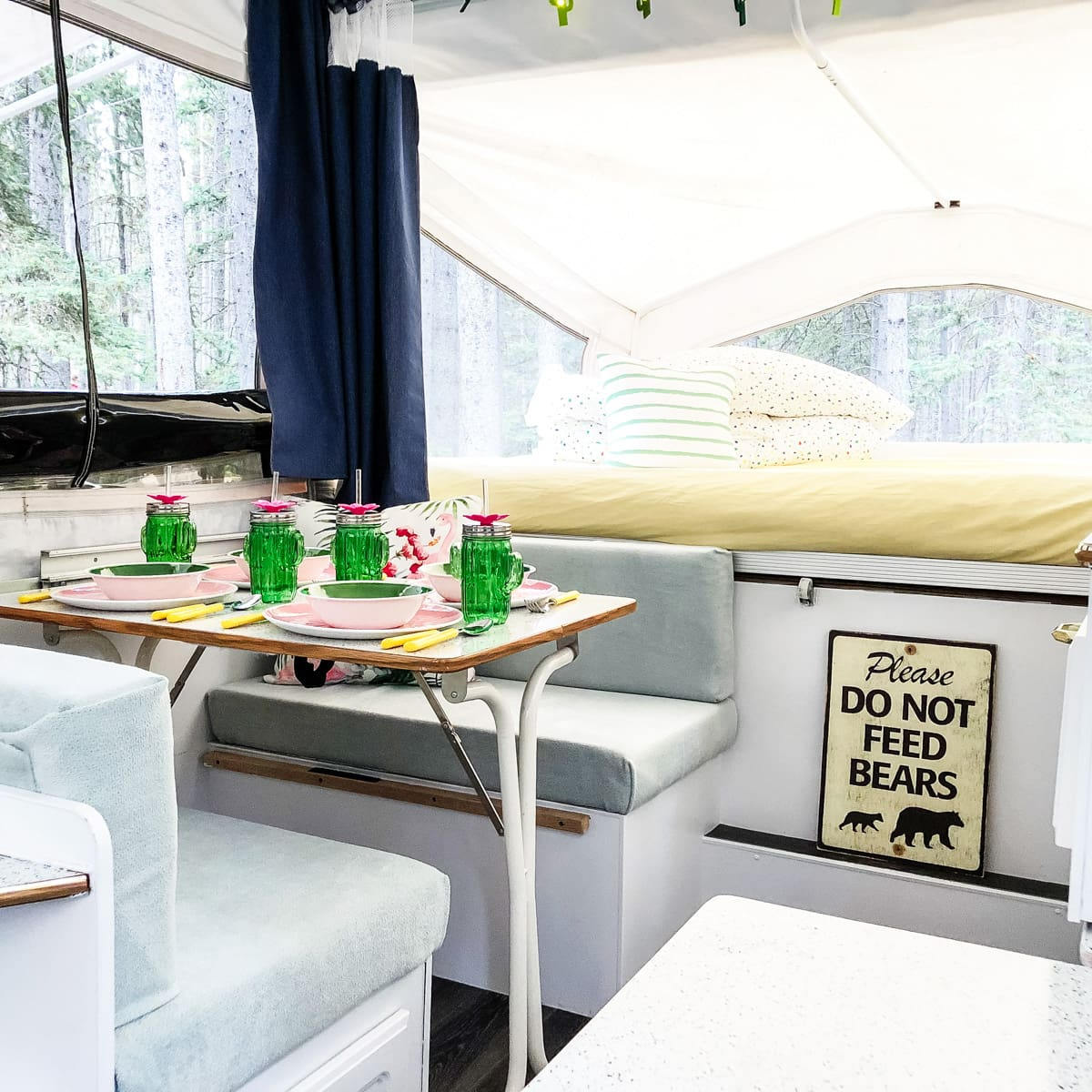 How to Reupholster Camper Cushions: A No-Sew Method