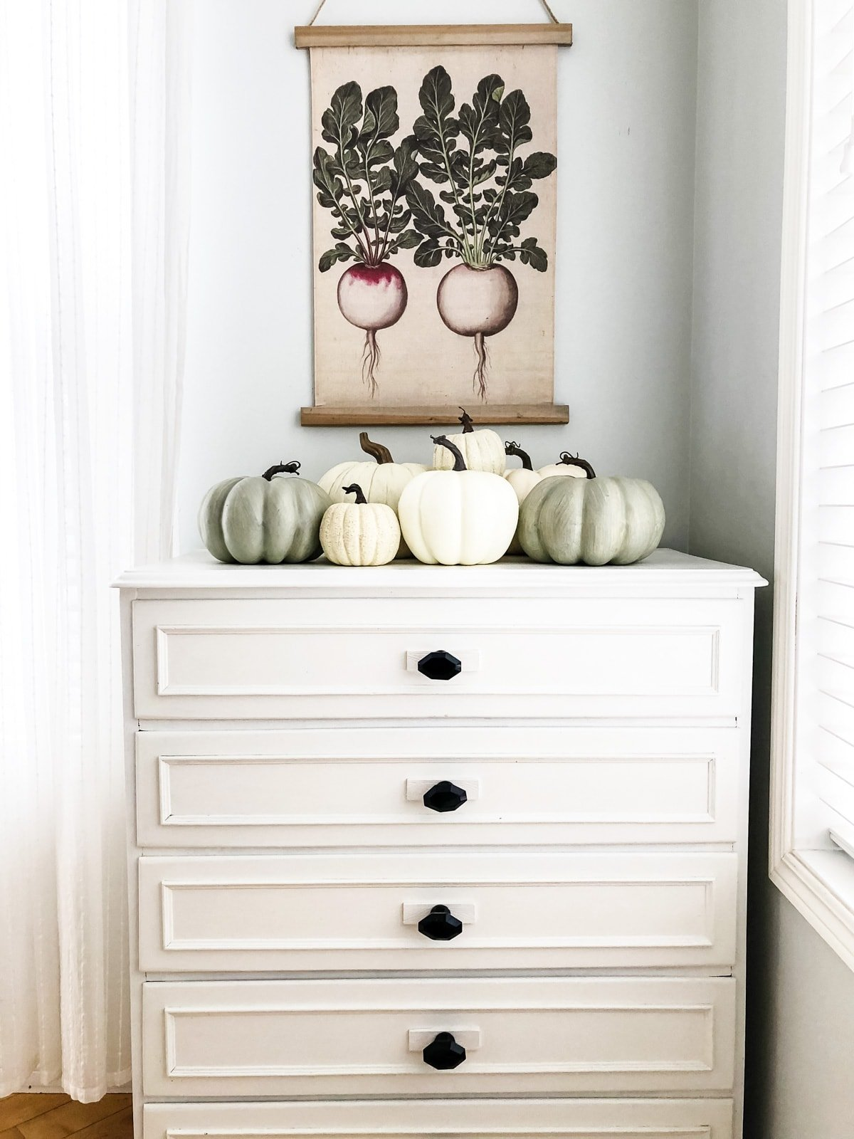 Pretty Fall Vignette
