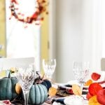Simple and Pretty Fall Tablescape
