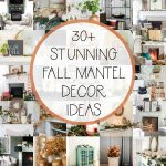 30+ Stunning Fall Mantels and Vignettes