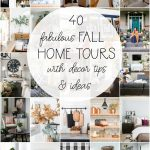 40 Fall Home Tours with decor tips and ideas!