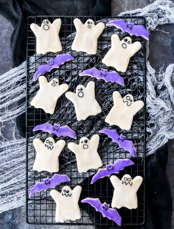 Decorated Halloween Sugar Cookies!