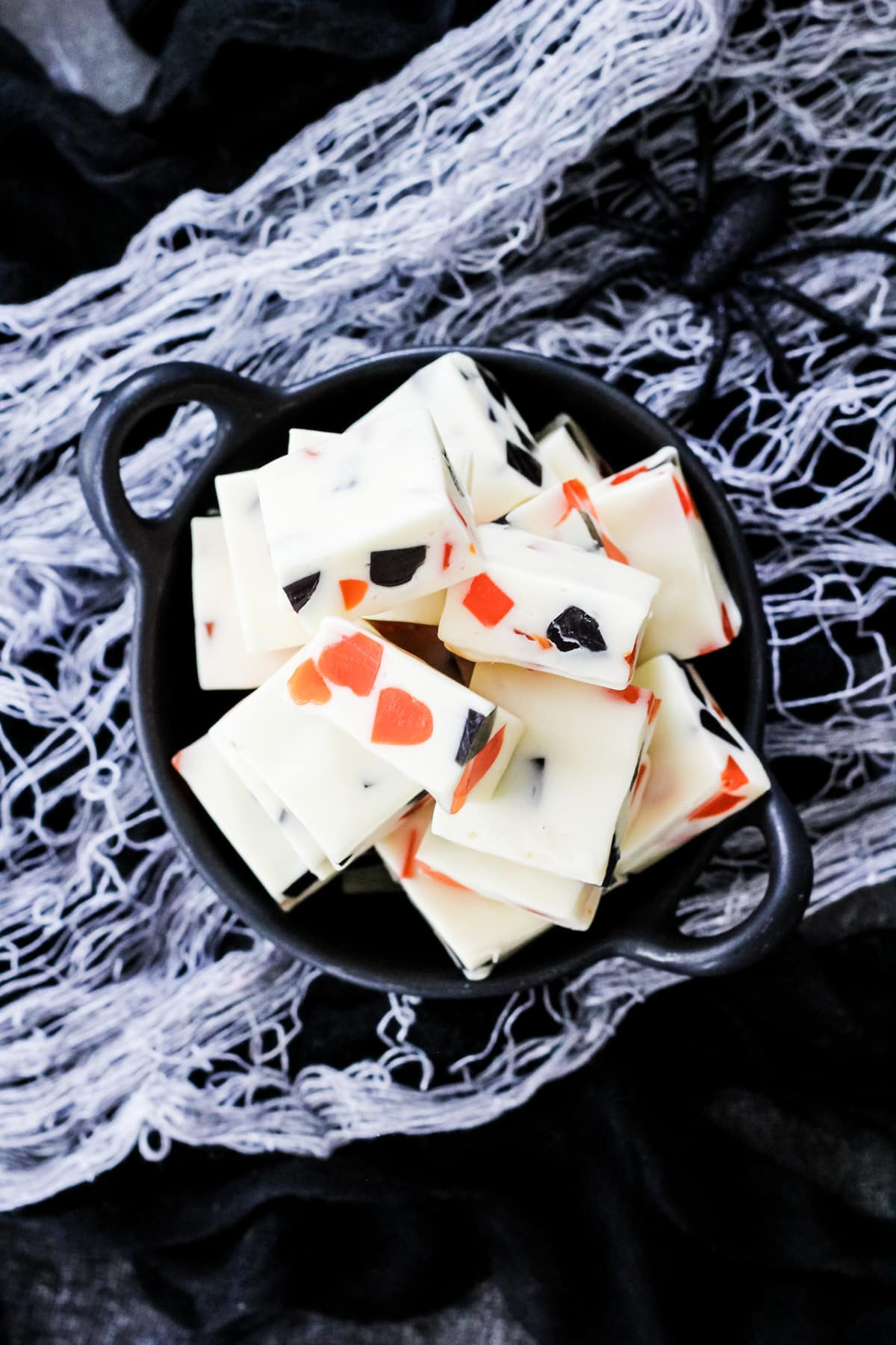 Easy Halloween Gumdrop Nougat Candy