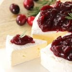 Brie Appetizer with Cranberry Balsamic Chutney