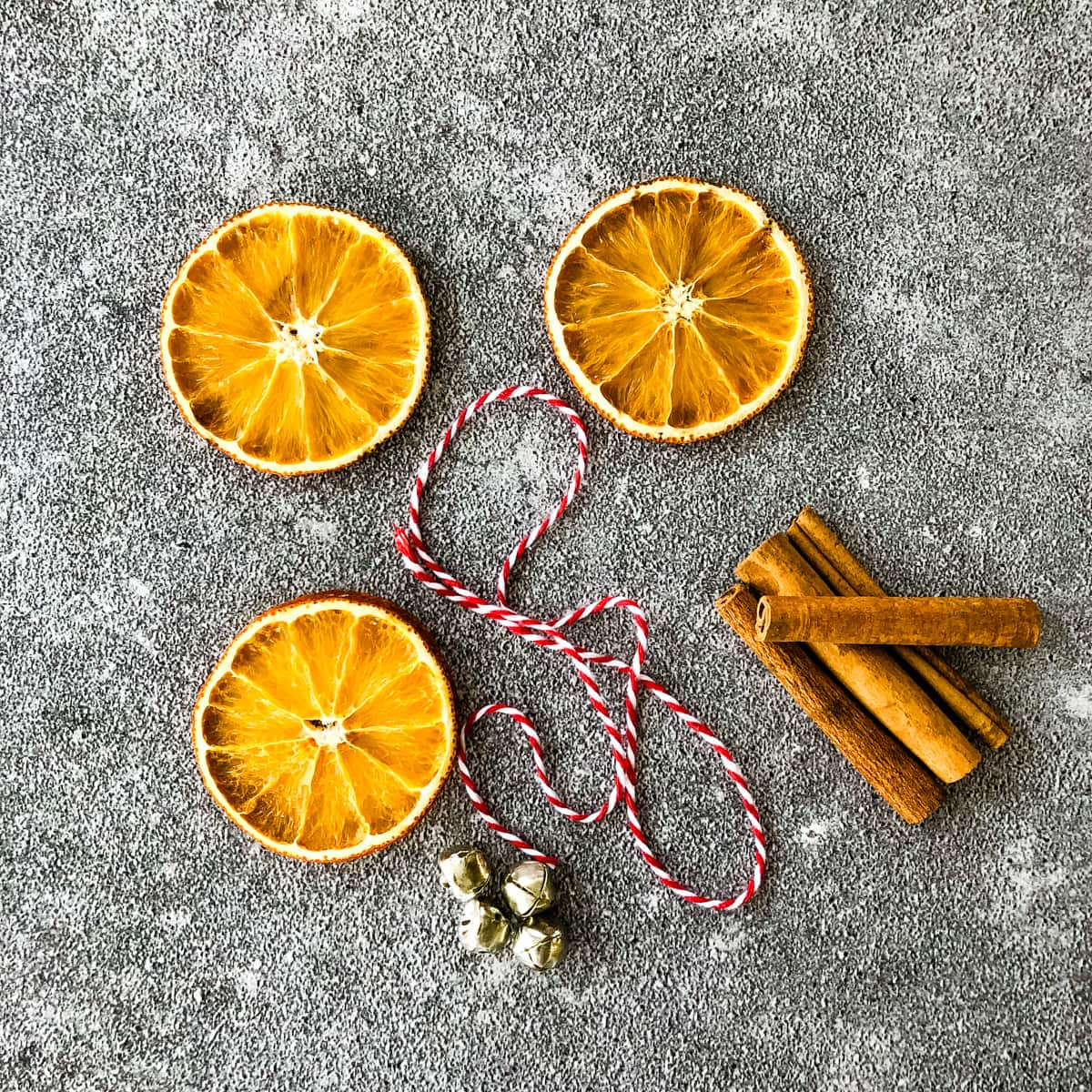Cinnamon Stick and Orange Slice Ornaments