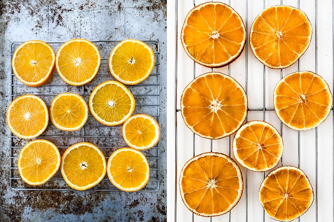 How to Dry Oranges Slices for crafting