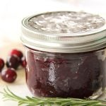 Gift from the Kitchen: Cranberry Balsamic Chutney