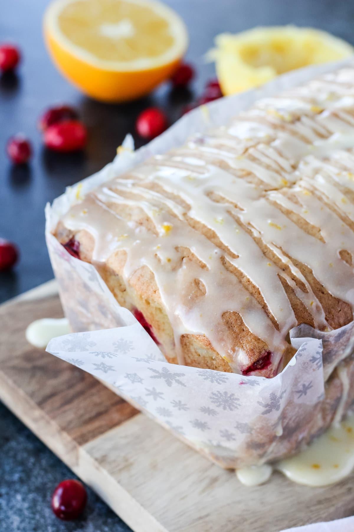 Cranberry Orange Loaf