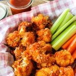 Airfryer Buffalo Cauliflower Bites Recipe