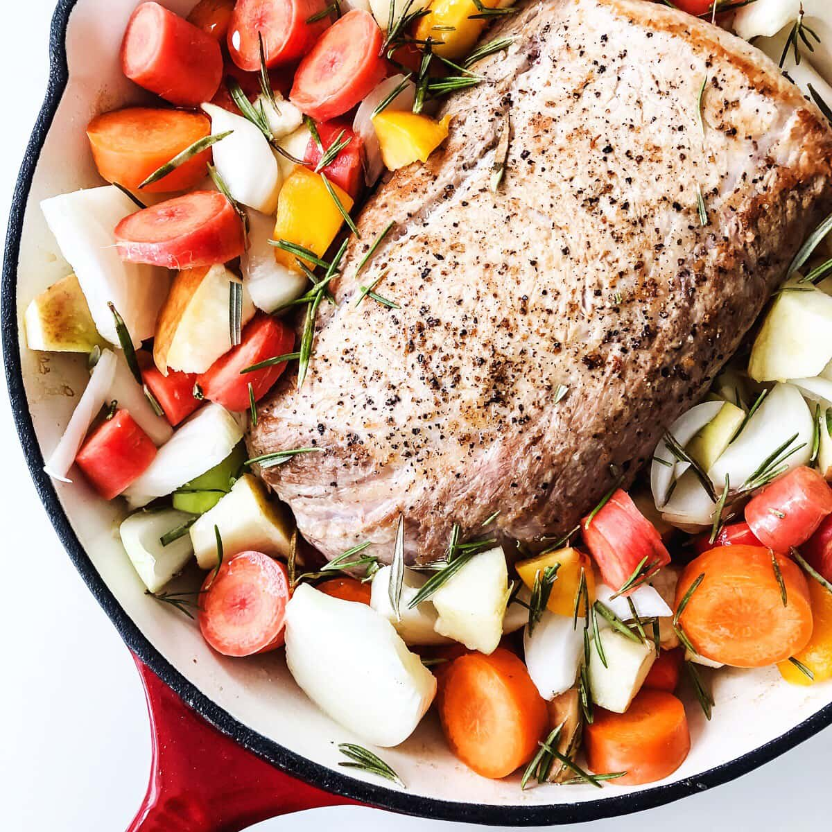 Pork Loin Roast with Vegetables