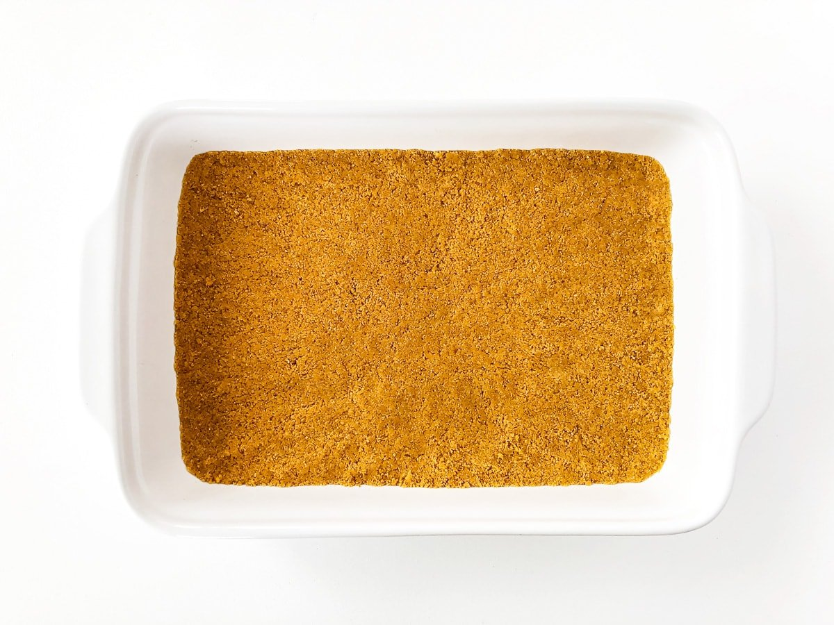 No Bake Graham Cracker Crust