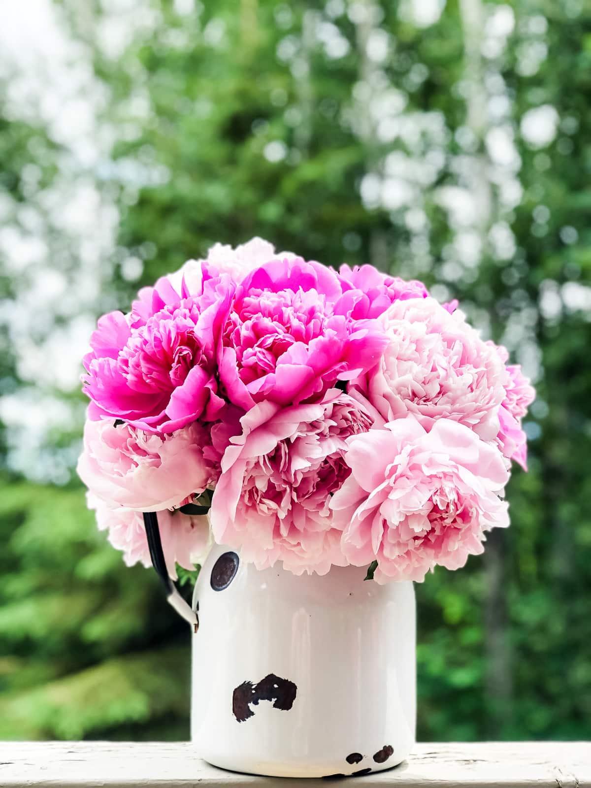 Beautiful Bouquet of Peonies