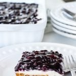 No Bake Blueberry Cheesecake Dessert Recipe