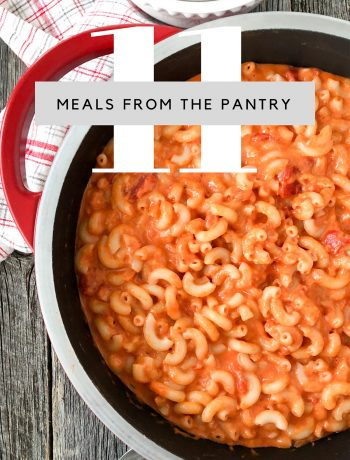 Meals From The Pantry