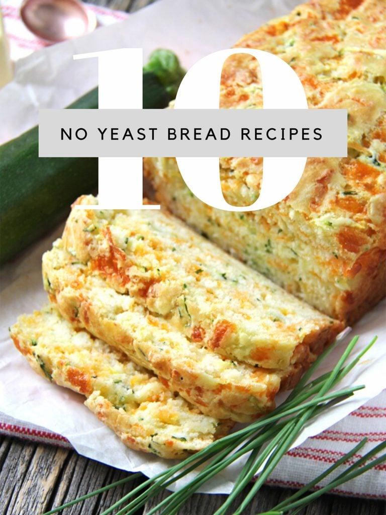 Easy No Yeast Bread Recipes
