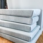 Stack of Reupholstered Camper Cushions