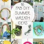 16 DIY Summer Wreaths