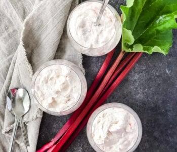 Rhubarb Cloud Dessert