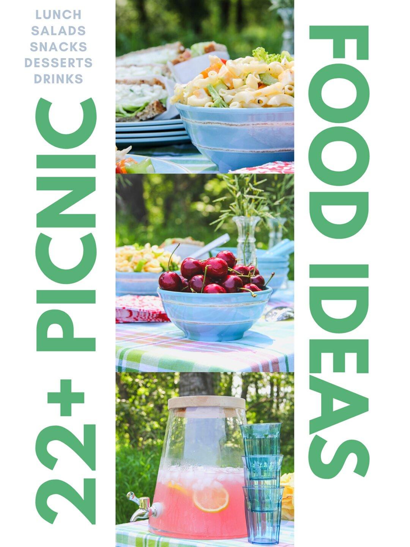 22+ Easy Picnic Recipe Ideas